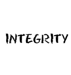 Integrity stamp label vector