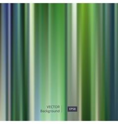 Abstract Green Striped and Blurred Background vector image vector image