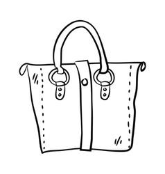 Handbag vector image vector image