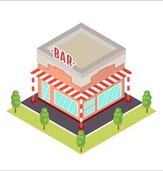 isometric restaurant icon vector image