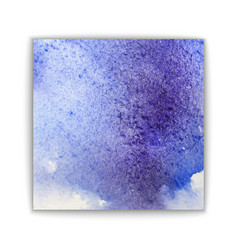 art abstract brush painted watercolor background vector image