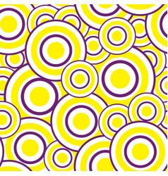 Circle pattern vector image