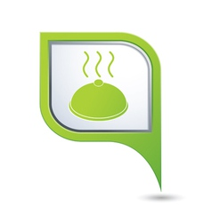 Dish GREEN pointer vector