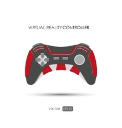Hand controller for virtual reality system vector image