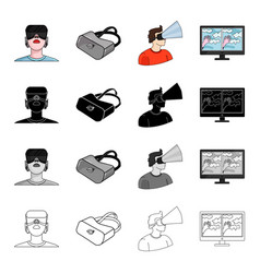 real progress technique and other web icon in vector image