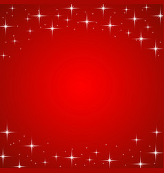 red christmas background with highlights vector image