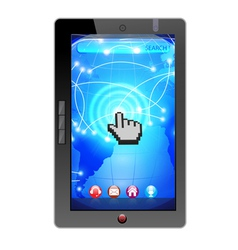 i pad technology vector image vector image