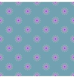 Flowers geometric seamless pattern 3908 vector image vector image