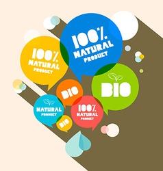 100 Natural Product - Bio vector