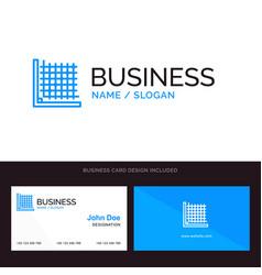 Color correction edit form grid blue business vector