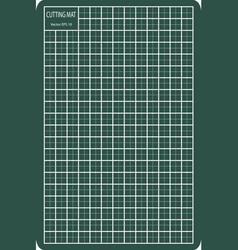 Cutting mat eps 10 vector