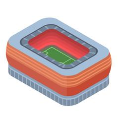 football stadium icon isometric style vector image