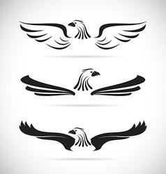 image an eagle vector image