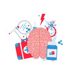 neurology concept vector image