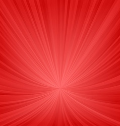 Red ray pattern background vector