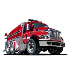 Cartoon Fire Truck vector image