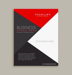 Business Flyer Pamphlet Brochure Design Template Vector Image - Brochure designs templates