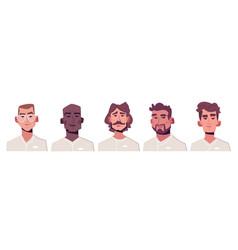Character chef avatar set vector