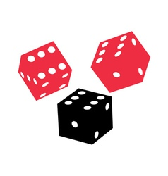 dice game vector image
