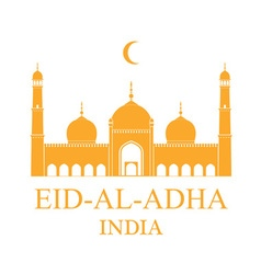 Eid al adha india vector