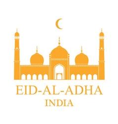 Eid Al Adha India vector image