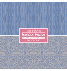 Grey backgrounds with seamless patterns vector image