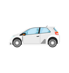 modern universal car isolated vector image