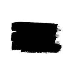 Paint drawing set black and white squares hand vector