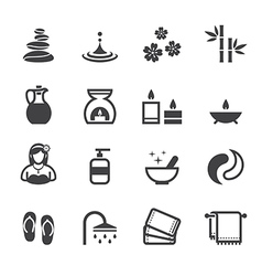 Spa Icons vector