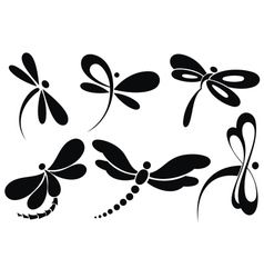 Butterfly sign vector image vector image