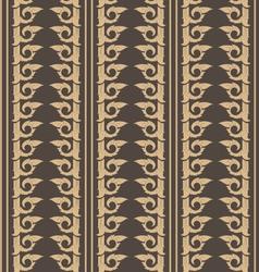 wallpaper thai pattern vector image vector image