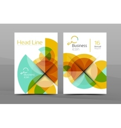A4 business page vector