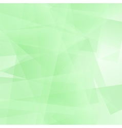 Abstract Green Polygonal Background vector image