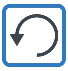 Rotate Ccw Flat Icon vector