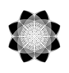sacred geometry 0187 vector image