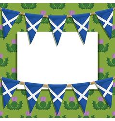 Scotland decoration vector