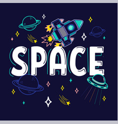 space print vector image