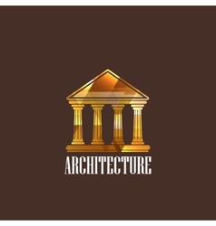 with building icon vector image vector image