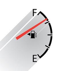 Gas gage vector image vector image