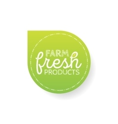 Stamp with text fresh product inside vector image vector image
