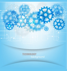 abstract future technology engineering vector image