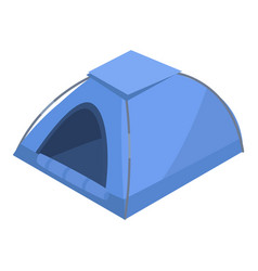 camp tent icon isometric style vector image