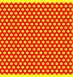dotted repeatable popart like duotone pattern vector image