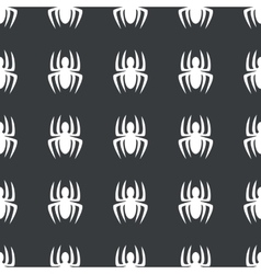 Straight black spider pattern vector