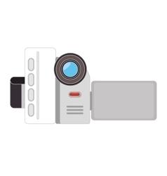 Video camera recording technology device vector