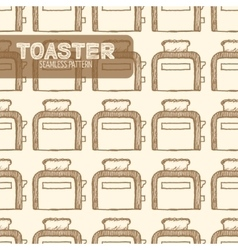 Toaster Vintage style vector image vector image