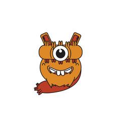 monster one eye vector image