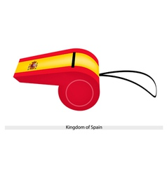 A whistle of the kingdom of spain vector