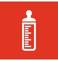 Baby bottle icon Baby milk bottle design baby vector image