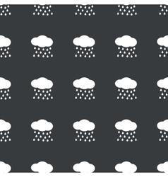 Straight black rain pattern vector